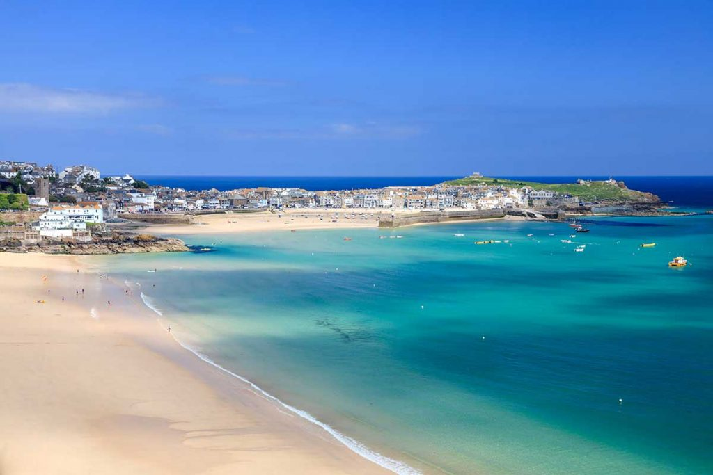 best beaches in europe - England